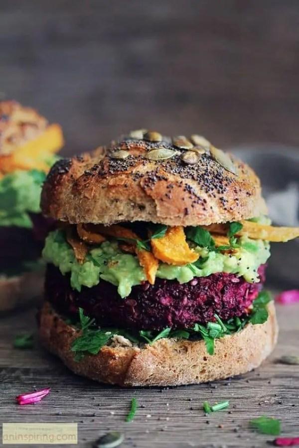 vegan green burger veggie bean burger recipe how to make veg patties veggie sandwich tasty vegan green burger