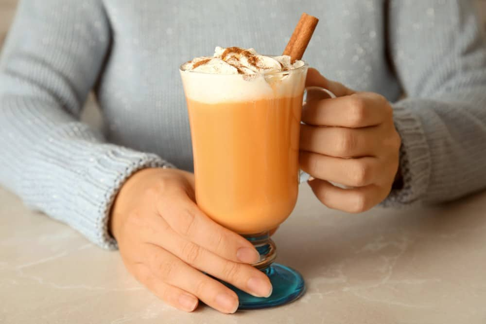 Healthy Homemade Pumpkin Spice Latte Recipe During Quarantine 2021
