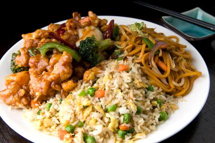 Photo of Chinese food Mix with Fried Rice