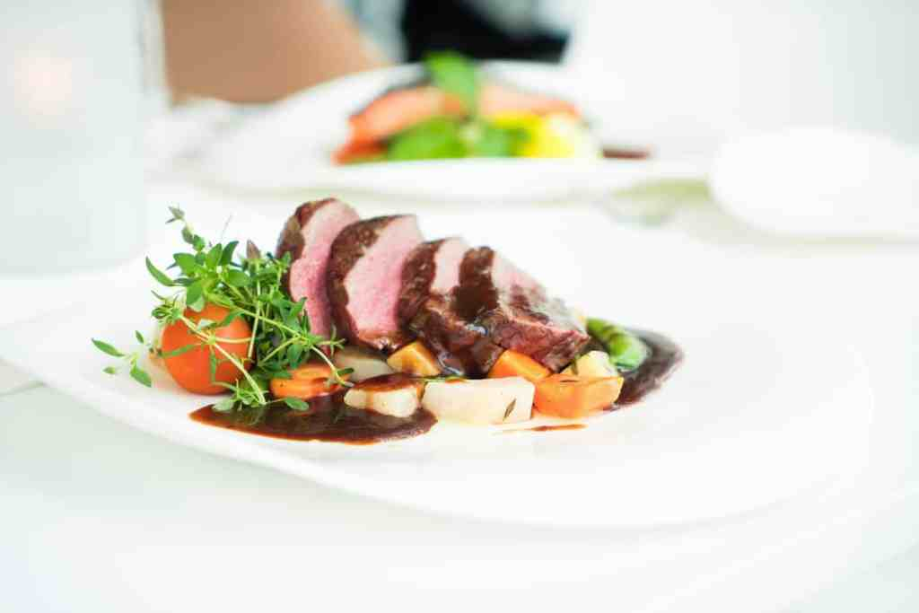 beef cuisine delicious dinner