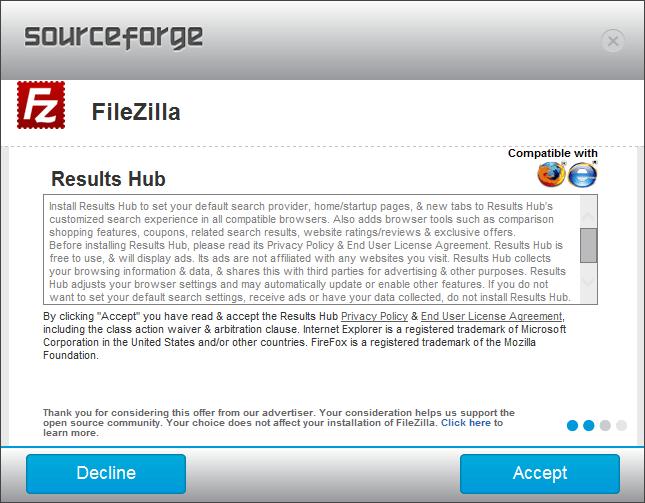 SF Filezilla Install Results Hub