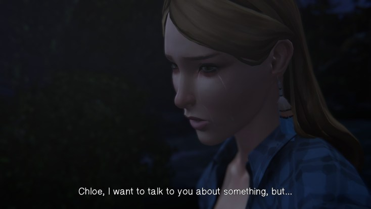 Rachels wants to tell Chloe something