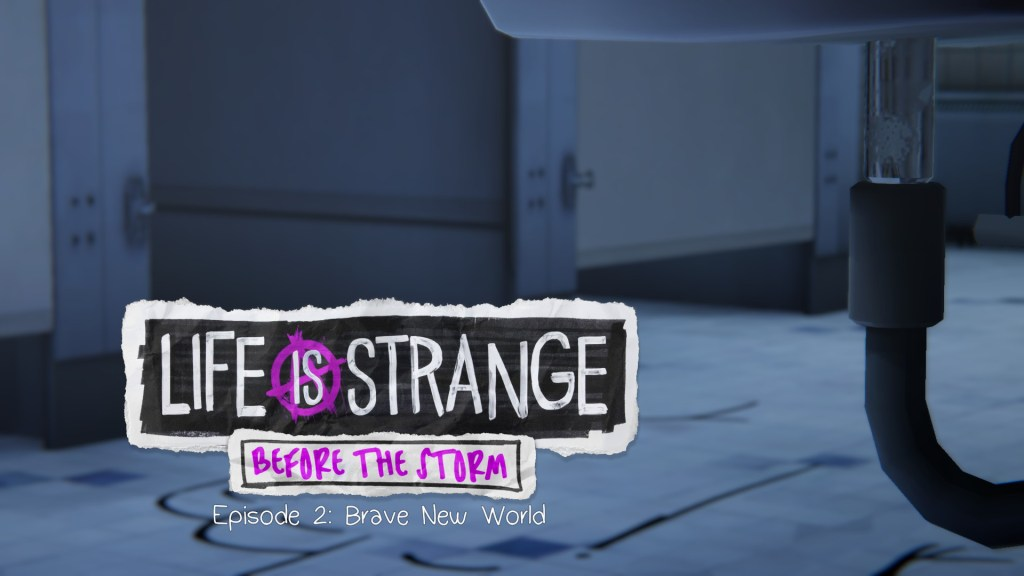 The In-game Title Screen