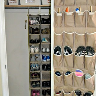 No Mudroom? No Problem! Go Vertical!