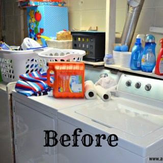 Sprucing Up The Laundry Room