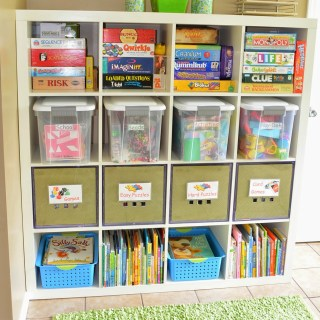 Organizing Colorful Eye Candy For Kids
