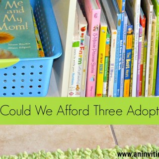 How Could We Afford Three Adoptions?