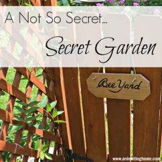 A Not So Secret…Secret Garden