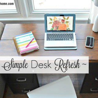 A Simple Desk Refresh