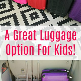 A Great Luggage Option For Kids!