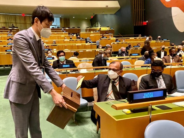 India on Thursday was re-elected to the United Nations Human Rights Council (UNHRC) for a sixth term.