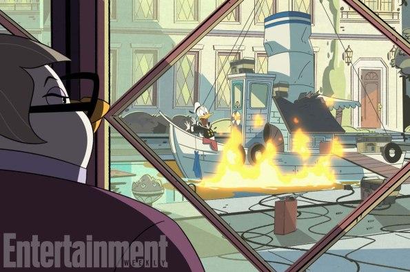 """DUCKTALES - """"Day Trip of Doom!"""" (Disney XD) MRS. BEAKLEY, DONALD DUCK"""
