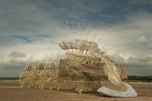 Kinetic Wind Sculpture Theo Jansen