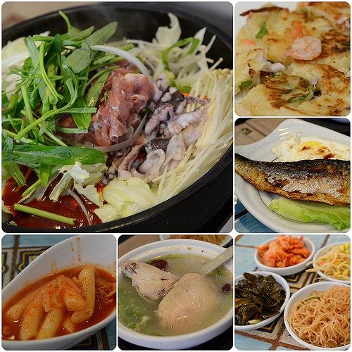 公館美食.小飯館兒韓國料理
