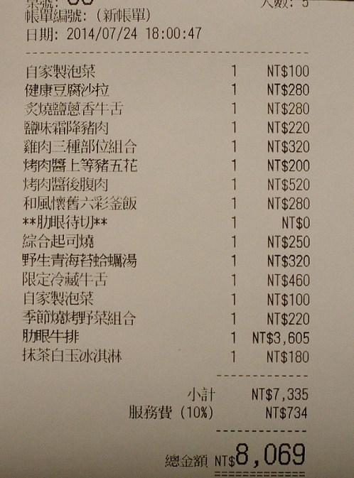 老乾杯慶城店@2014父親節大餐