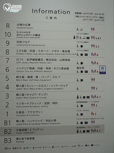 橫濱景點.橫濱高島屋、橫濱SOGO血拼去!