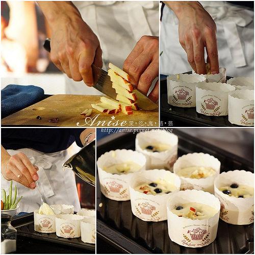 暖男主廚MASA的深夜食堂~Panasonic蒸烘烤微波爐NN-BS1000 :胡麻味噌馬鈴薯燉肉、居酒屋風串燒、莓果戚風蛋糕Style Cup cake