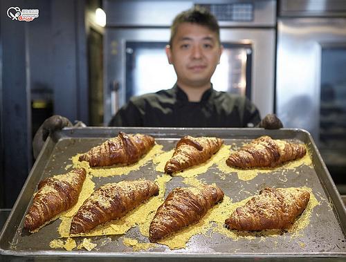 香港美食.推薦必吃!URBAN Bakery Works 流沙奶黃可頌超厲害!