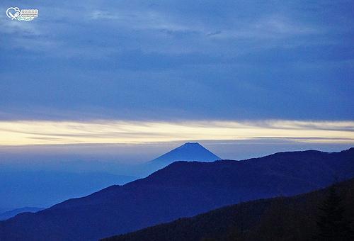 富士見麗景渡假村,說好的雲海怎麼變成拍日出?@@