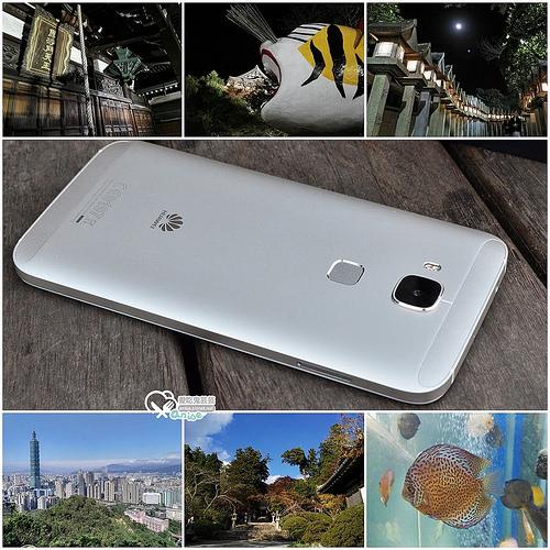 華為HUAWEI G7 Plus,相機超大光圈拍夜景超強!