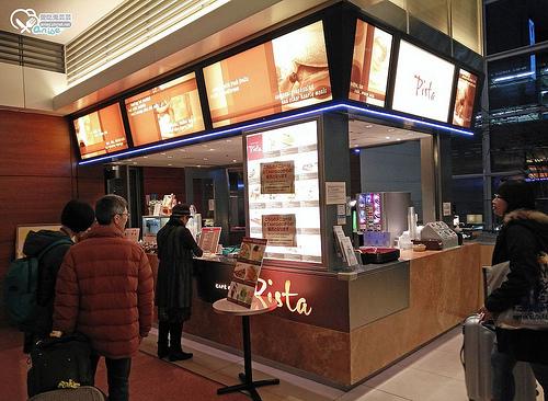 東京羽田機場24小時營業咖啡廳~Pista (ピスタ)