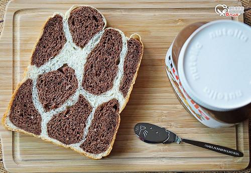長頸鹿吐司,簡易麵包機配方