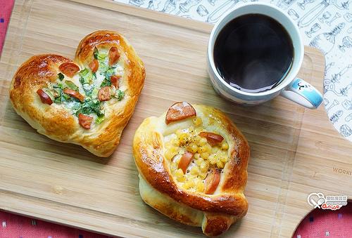 低溫發酵麵包:蔥花麵包、玉米麵包、起司條