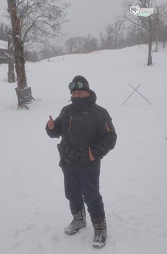 Hotel Grandeco騎雪上摩托車、滑雪盆,露天雪景溫泉超有fu