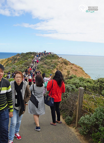 澳洲墨爾本.大洋路(Great Ocean Road),絕美藍天白雲海洋跳跳跳!