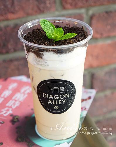 逢甲夜市.斜角巷Diagon Alley | 喝杯好茶吧!