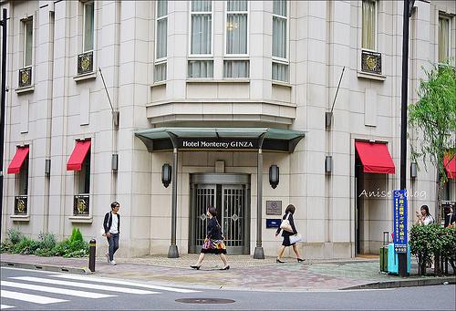 東京住宿.銀座蒙特利酒店(Hotel Monterey Ginza),地點絕佳的小歐風飯店