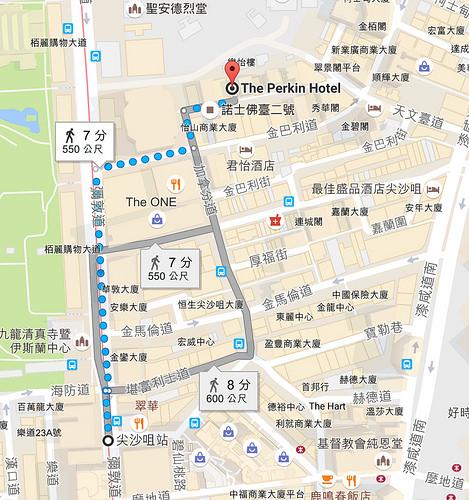 香港住宿推薦.紫珀酒店Perkin Hotel (尖沙咀站),房間大又寬敞、飲料無限暢飲,CP值超高!