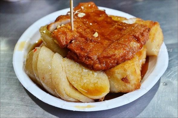 板橋黃石市場生炒魷魚蘿蔔糕糯米腸DSC_1558