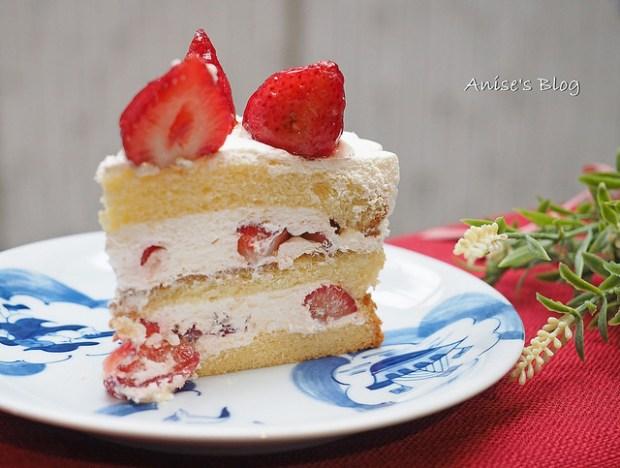 台北草莓蛋糕,Bonnie Sugar,滿滿的草莓好幸福 @愛吃鬼芸芸