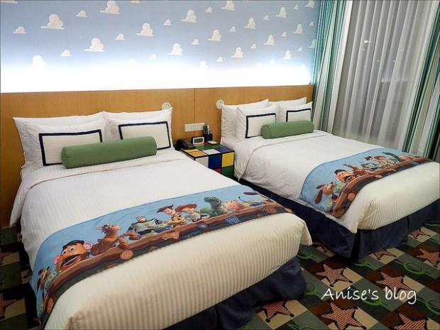 玩具總動員酒店Toy Story Hotel,跟胡迪、巴斯光年一起睡覺覺@上海迪士尼樂園 @愛吃鬼芸芸