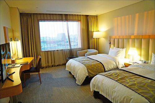 韓國國際展覽中心附近住宿.The MVL Hotel,高雅舒適的商務旅館 @愛吃鬼芸芸