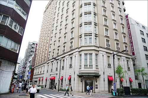 東京住宿.銀座蒙特利酒店(Hotel Monterey Ginza),地點絕佳的小歐風飯店 @愛吃鬼芸芸