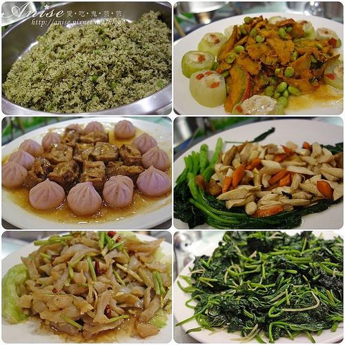 蓮池閣素菜餐廳,素食吃到飽 @愛吃鬼芸芸