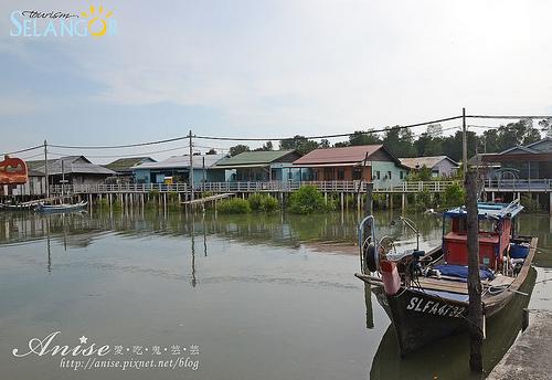 吉膽島(Pulau Ketam)小漁村@馬來西亞雪蘭莪 @愛吃鬼芸芸