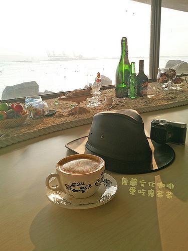 淡水漁人碼頭.情人橋、魚藏文化咖啡 @愛吃鬼芸芸