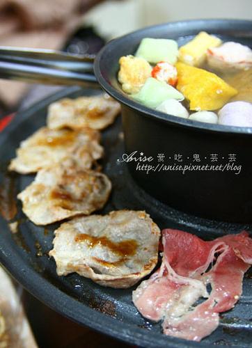 客滿燒肉串燒火鍋,火鍋料特別又美味! @愛吃鬼芸芸