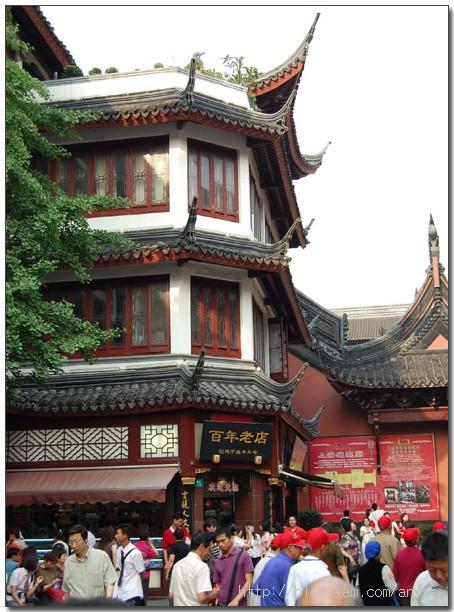 98.05.24 上海行(5)–城隍廟老街+彩虹坊晚餐+足浴 | 愛吃鬼蕓蕓