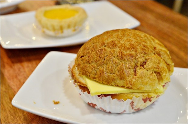信義區美食.檀島香港茶餐廳,招牌酥皮蛋撻、菠蘿油、法式西多士(姊姊食記)