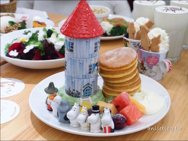嚕嚕米主題餐廳( Moomin Cafe ),台北東區7/7開幕!(內有菜單)