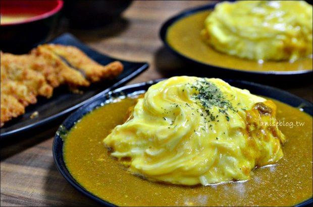 秋月日式炸豬排、蛋包飯,南機場夜市平價美食(姊姊食記)