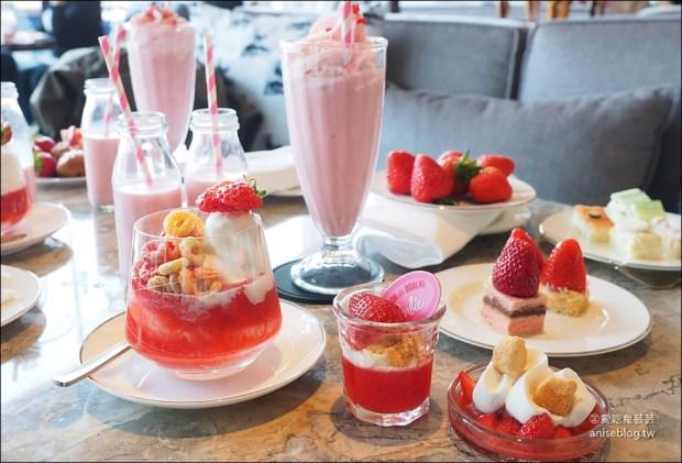 東大門萬豪酒店草莓吃到飽