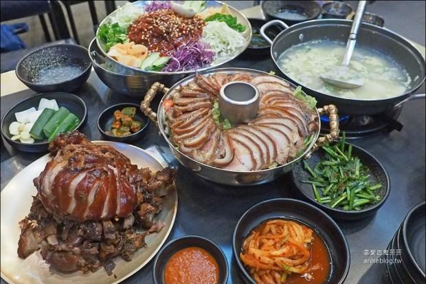 滿足五香豬腳,莊爸莊媽直呼超級好吃 @2019首爾賞櫻孝親之旅