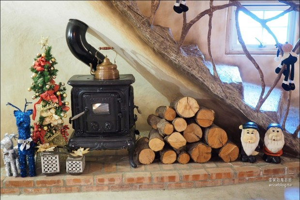 童話裡的森林蘑菇屋   花見幸福超浪漫童話小屋