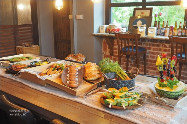 麵包樹舍 | 花蓮民宿,我那無緣的森林早餐啊,嗚嗚!