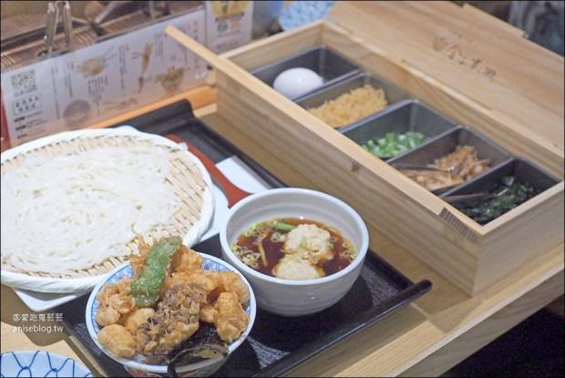 稻庭烏龍麵+迷你天丼,兩種享受一次滿足@金子半之助新光三越A8 @愛吃鬼芸芸
